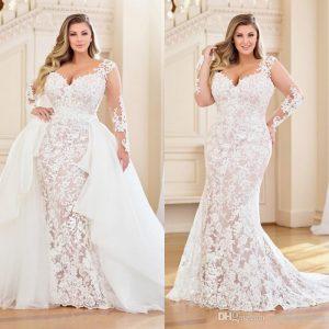 لباس عروس مناسب برای بازوهای بزرگ